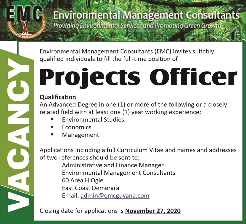 EMC Vacancy